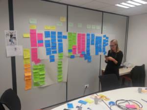NHUMAN - atelier story mapping
